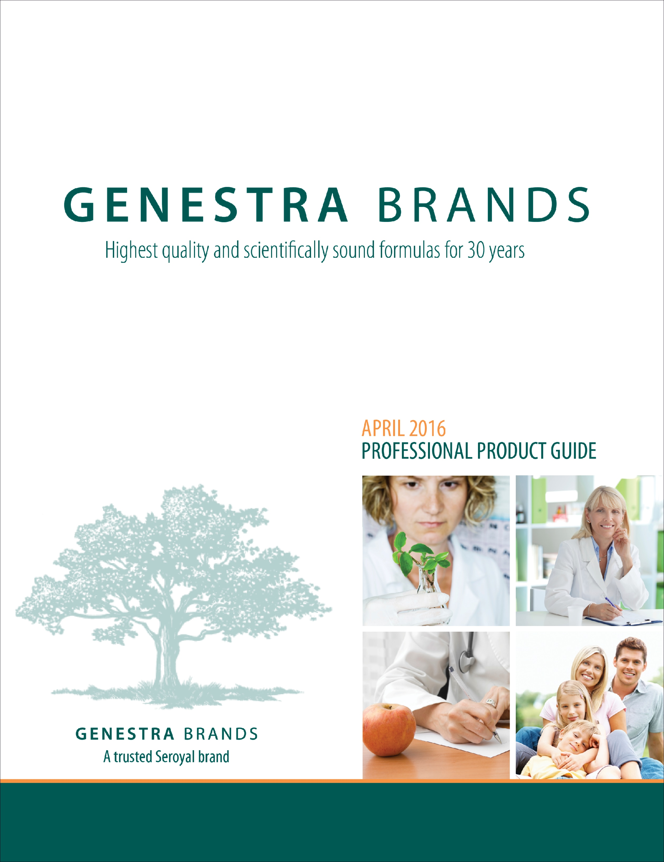 GENESTRA BRANDS HMF Probiotics Professional Product Guide