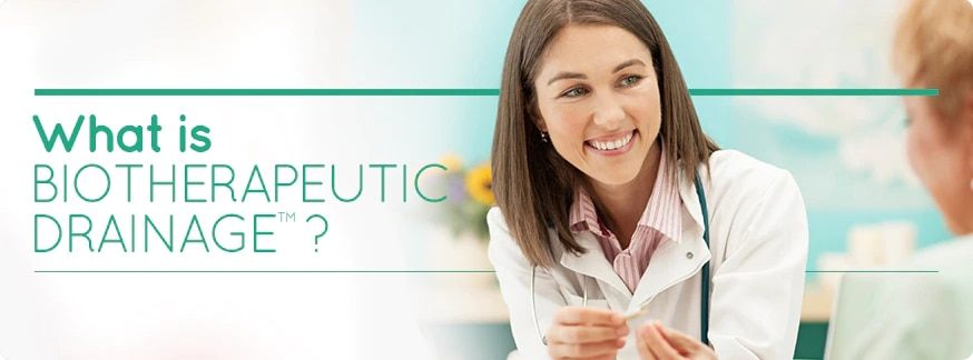 What is Biotherapeutic Drainage banner